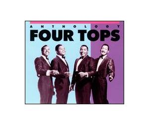 Four Tops: Anthology - Cover