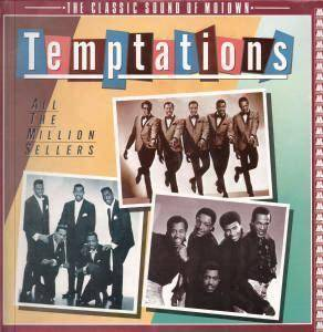 The Temptations: All The Million Sellers - Cover