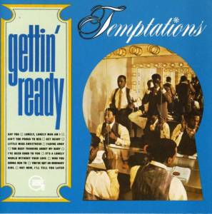 The Temptations: Gettin' Ready - Cover