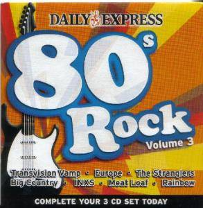 80s Rock Volume 3 - Cover