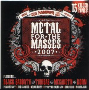 Metal Hammer Presents Metal For The Masses 2007 - Cover
