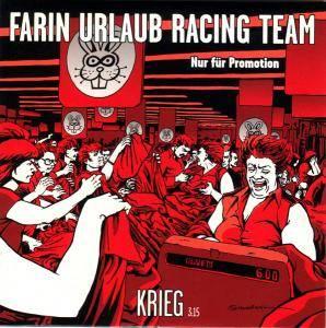Farin Urlaub Racing Team: Krieg (Promo-Single-CD) - Bild 1