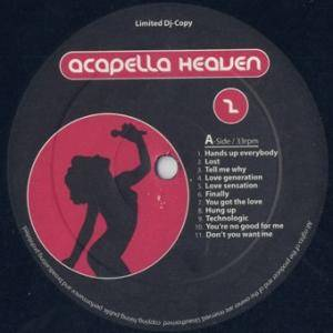 Cover - Roger Sanchez: Acapella Heaven Vol. 2