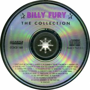 Billy Fury: The Collection (CD) - Bild 4