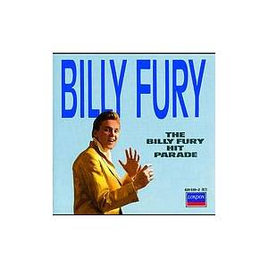 Billy Fury: Billy Fury Hit Parade, The - Cover