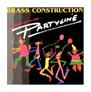 Brass Construction: Partyline - Cover