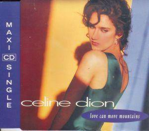 Céline Dion: Love Can Move Mountains - Cover