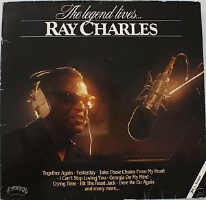Ray Charles: Legend Lives, The - Cover