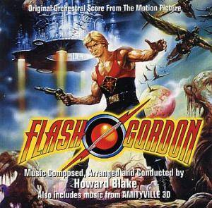 Cover - Howard Blake: Flash Gordon / Amityville 3D