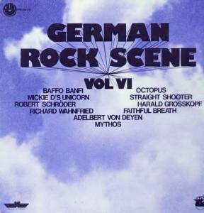 Cover - Harald Grosskopf: GOVI presents German Rock Scene Vol. VI