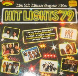 Hit Lights '79 - 20 Disco Super Hits - Cover
