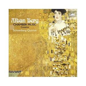 Cover - Alban Berg: Chamber Music Complete
