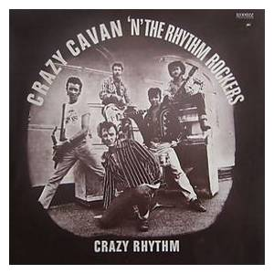 Crazy Cavan & The Rhythm Rockers: Crazy Rhythm - Cover