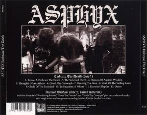 Asphyx: Embrace The Death (2-CD) - Bild 2