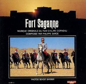 Philippe Sarde: Fort Saganne - Cover