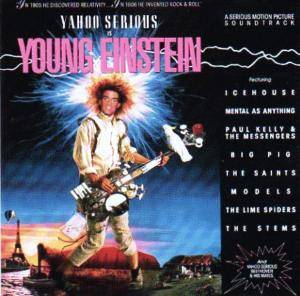 Cover - Yahoo Serious: Young Einstein - A Serious Motion Picture Soundtrack
