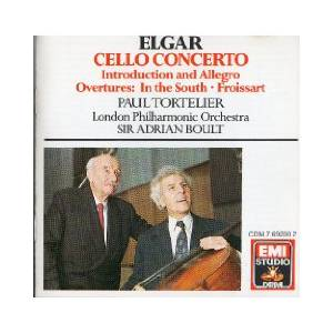 Edward Elgar: Elgar: Cello Concerto / Introduction And Allegro / Overture In The South - Froissart - Cover