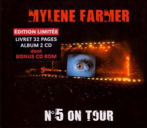 Mylène Farmer: N°5 On Tour - Cover