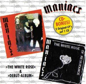 Cover - Maniacs: White Rose & Debut Album, The