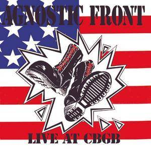 Agnostic Front: Live At CBGB - Cover