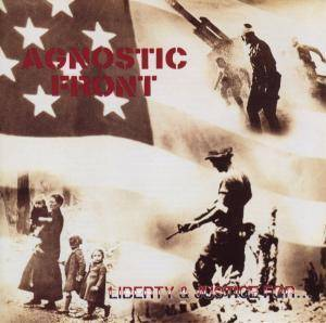 Cover - Agnostic Front: Liberty & Justice For...