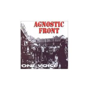 Cover - Agnostic Front: One Voice