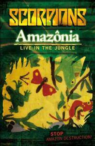 Scorpions: Amazônia - Live In The Jungle - Cover