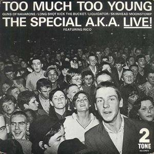 The Specials: Too Much Too Young - Cover
