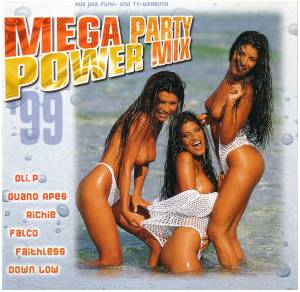 Mega Party Power Mix - Cover