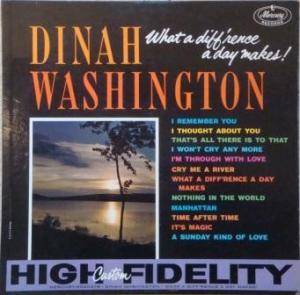 Dinah Washington: What A Diff'rence A Day Makes! - Cover