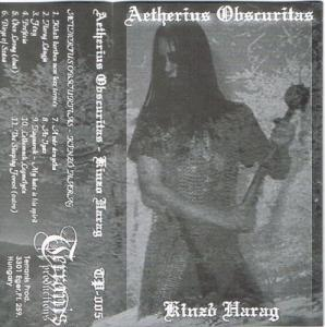 Aetherius Obscuritas: Kinzó Harag - Cover