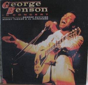 George Benson: In Concert - Featuring: George Duvivier, Mickey Tucker & Al Harewood - Cover