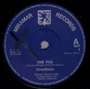 Crucifixion: Fox, The - Cover