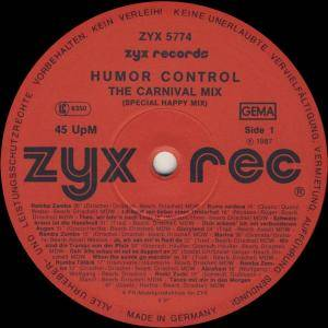 "Humor Control: The Carnival Mix (12"") - Bild 2"