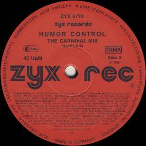 "Humor Control: The Carnival Mix (12"") - Bild 3"