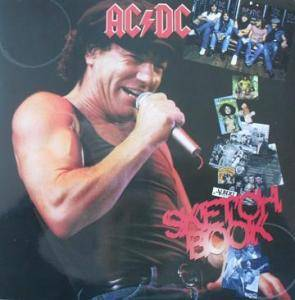 AC/DC: Sketchbook - Cover