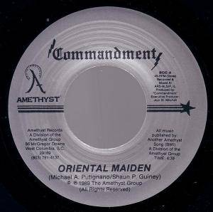 Commandment: Oriental Maiden - Cover