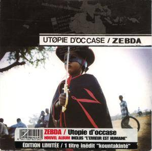 Cover - Zebda: Utopie D'Occase