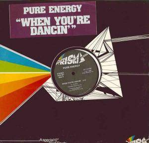 Cover - Pure Energy: When You're Dancin'