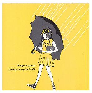 Cover - Electrelane: Beggars Group - Spring Sampler 2004