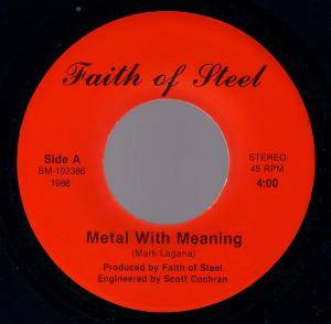 Faith Of Steel: Metal With Meaning - Cover