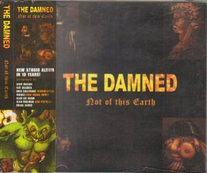 Cover - Damned, The: Not Of This Earth