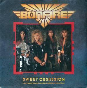 Bonfire: Sweet Obsession - Cover
