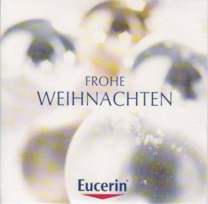 eucerin frohe weihnachten promo cd 2009 limited edition pappschuber. Black Bedroom Furniture Sets. Home Design Ideas