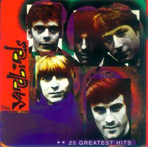 The Yardbirds: 25 Greatest Hits - Cover