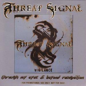 Cover - Threat Signal: Through My Eyes & Beyond Recognition