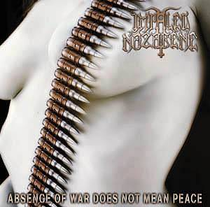 Impaled Nazarene: Absence Of War Does Not Mean Peace - Cover