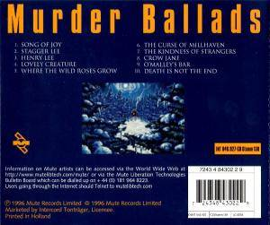 Nick Cave And The Bad Seeds: Murder Ballads (CD) - Bild 3