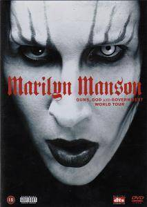 Marilyn Manson: Guns, God And Government World Tour - Cover