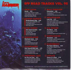 Metal Hammer - Off Road Tracks Vol. 98 (CD) - Bild 2